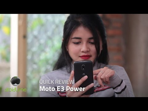 Moto E3 Power Quick Review