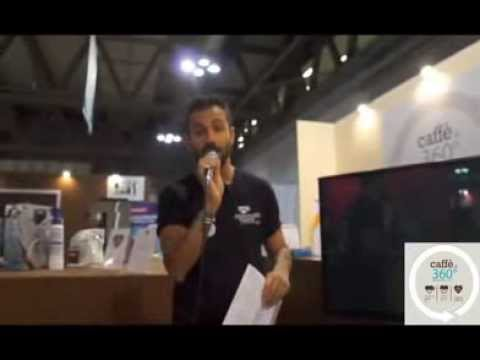 Eddy Righi introduce il quinto giorno di Io bevo caffè di qualità a HOST 2013