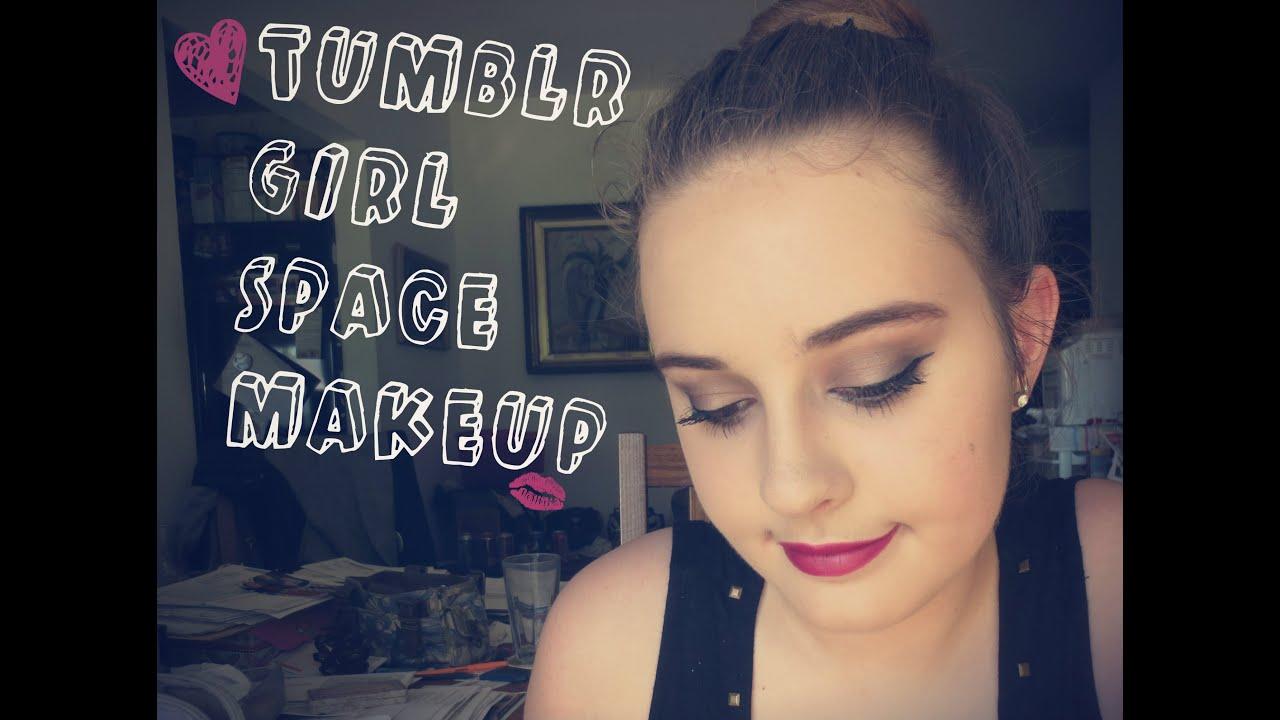Tumblr Girl Space Makeup Tutorial|| Kellxlam|| Drugstore And High End! - YouTube