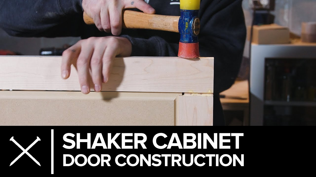 How To Cabinet Door Construction Youtube
