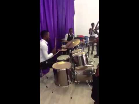 Best drummers in Africa doing solos