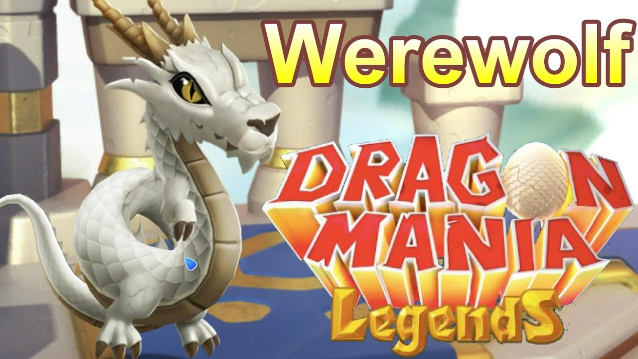 Dragon Legends: How To Breed The Werewolf Dragon