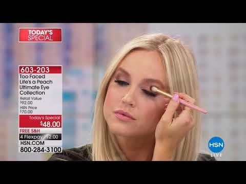 HSN | Too Faced Cosmetics / Essie Nail Collection 04.11.2018 - 05 PM