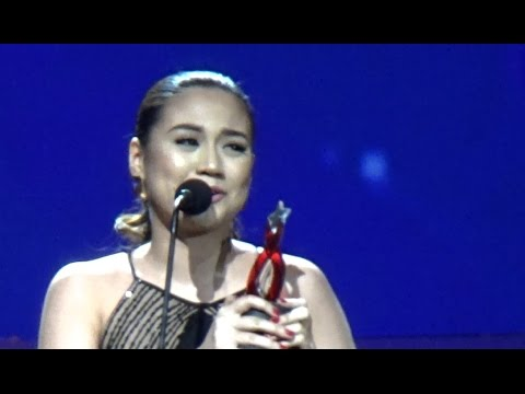 Morissette Amon Awarded as New Female Recording Artist of the Year (PMPC)