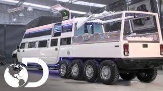 Limusina EXTREMA: un Hummer con dos pisos y cuatro ejes | Mexicánicos | Discovery Latinoamérica