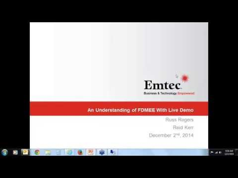 Webinar Deep Dive of FDMEE with a Live Drill back Demo