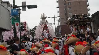 令和元年 秩父川瀬祭 本町交差点 2019/7/20 Chichibu Kawase Festival 12