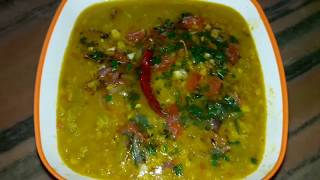 CHANE KI DAL  | easy and tasty home - made recipe |