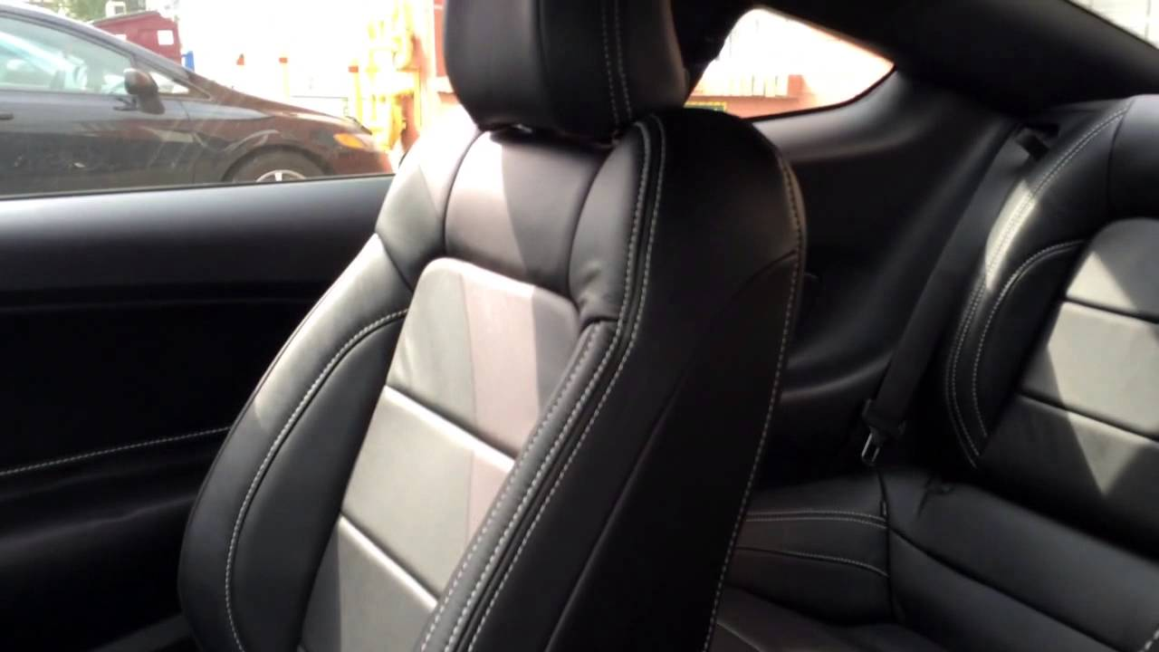 Ford Mustang 2015 Gt Leather Interior Montreal Youtube
