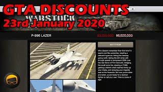 GTA Online Best Vehicle Discounts (23rd January 2020) - GTA 5 Weekly Car Sales Guide #22