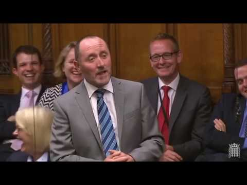 Eddie Hughes MP Maiden Speech to House of Commons