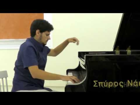 Poros Piano Academy 2016 - Greek Contemporary Composers - Enhanced Sound - Konstantinos Destounis