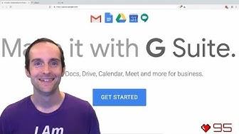 G Suite Tutorial: Setup Gmail, Docs, Drive & Calendar on Your Website!