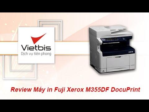 Video Review sản phẩm máy in đa chức năng - Fuji Xerox M355DF - Vietbis vn