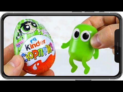 видео: Поймал ЖИВУЮ КАПСУЛУ! Сканер киндеров. kinder surprise.