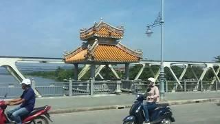 Đường Lê Lợi, trường Nữ Sinh Đồng Khánh, Quốc Học Huế tháng 07/17