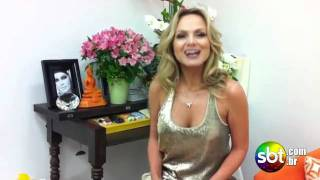 Em seu camarim, Eliana agradece aos fãs pelos parabéns - SBT.com.br