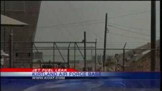 Kirtland Air Force Base Fuel Tank Collapses
