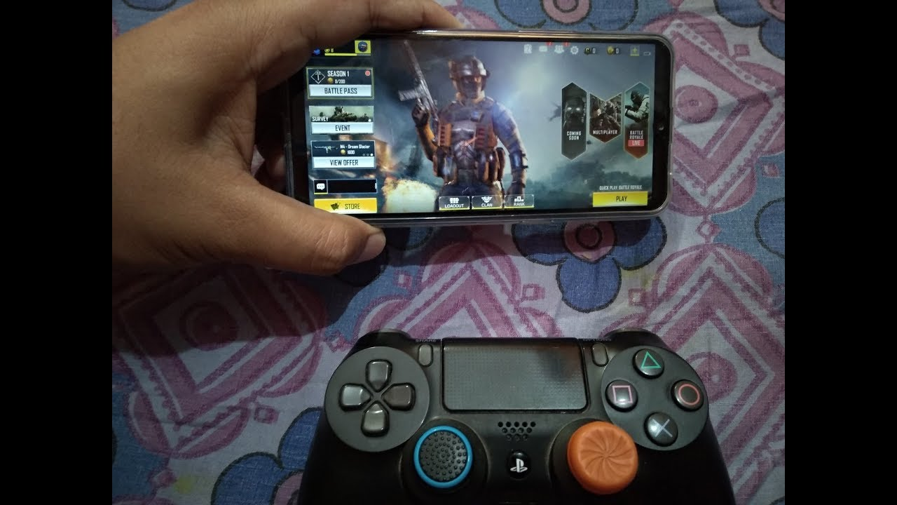 Play Call Of Duty Mobile By Ps4 Controller Or Any Gamepad