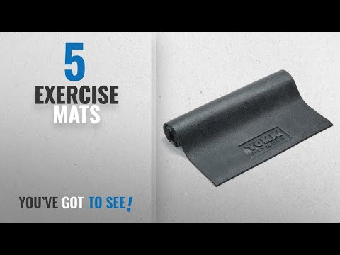 Top 10 Exercise Mats [2018]: York Fitness Equipment Mat - Large