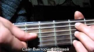 Аккорды песни Платочки белые Виктория Юдина