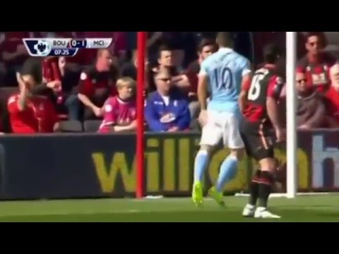 Cuplikan Video Gol Bournemouth vs Man City