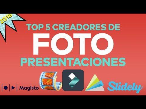 5 Mejores Programas para hacer Presentaciones con Fotos y Música- Photo slideshow maker