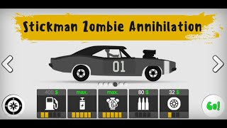 Stickman Destruction Zombie Annihilation