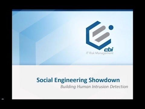 CBI Webinar | Social Engineering