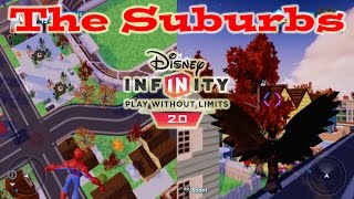 Disney Infinity 2.0 Toy Box The Suburbs (With Phineas And Ferb And Aladdin Power Discs Action)