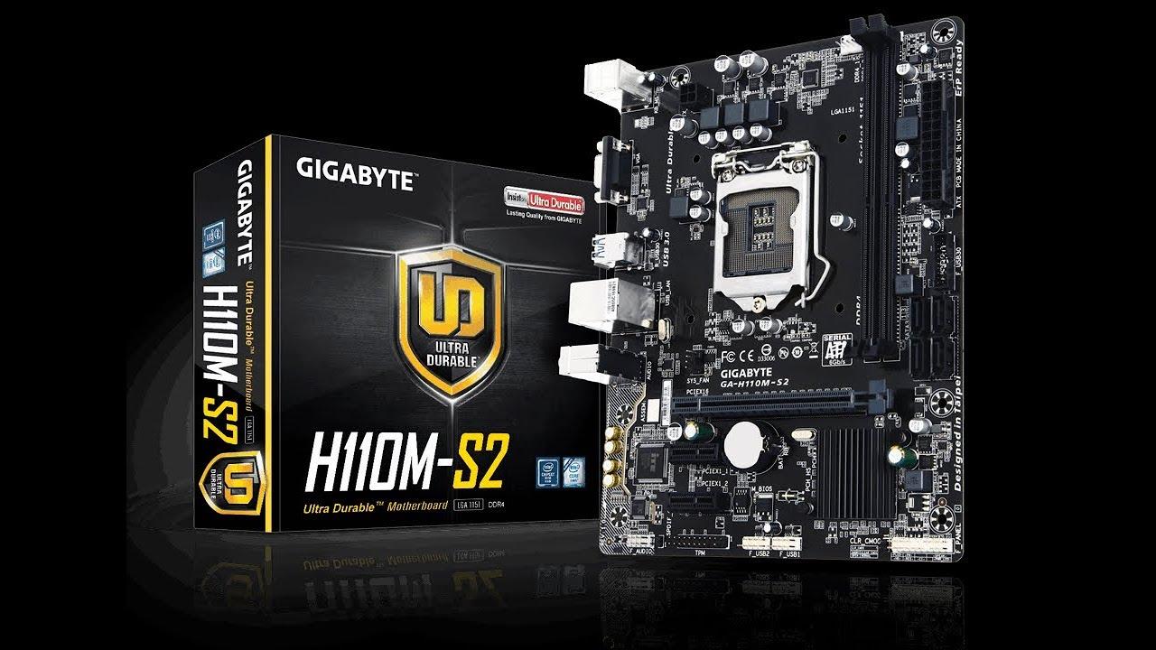 gigabyte h110m-a drivers