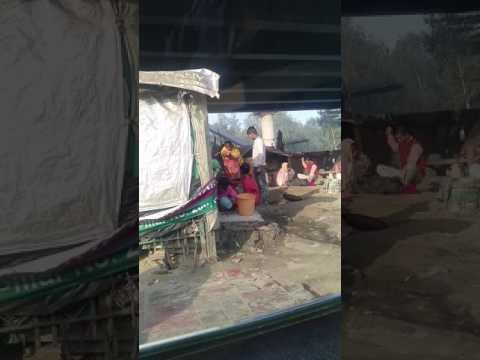 Slum under mayapuri