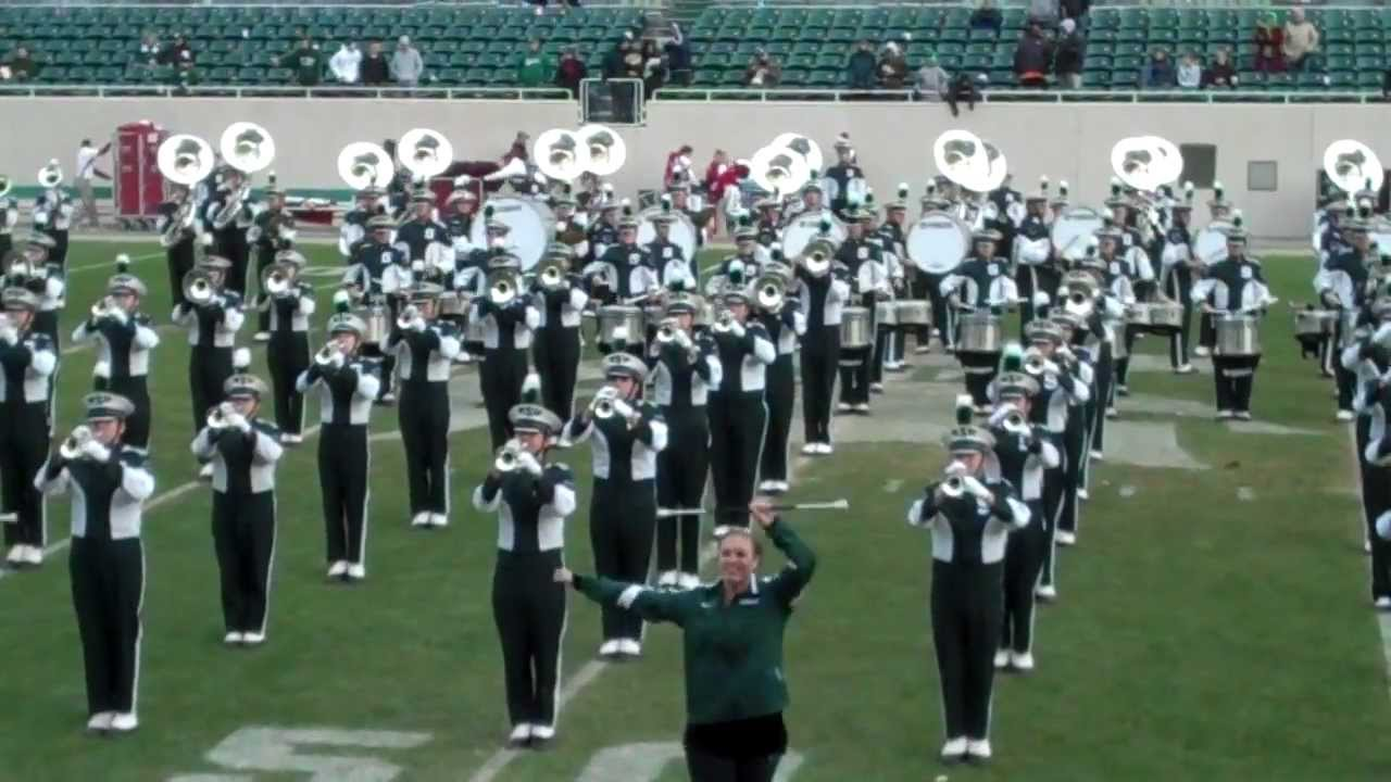 Michigan State Spartans Marching Band - Thriller - YouTube