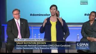DNC candidate: 'White people need to shut up'