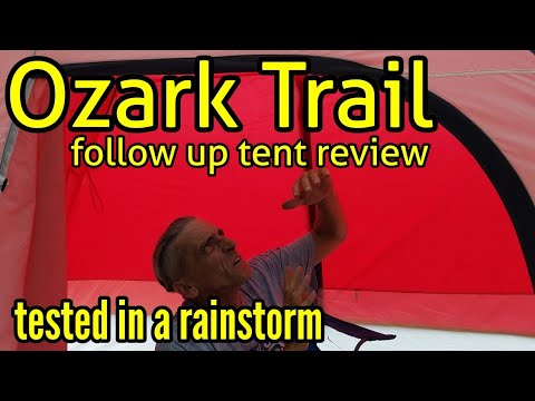 Ozark Trail 6-person Dome Tent Follow-up Review