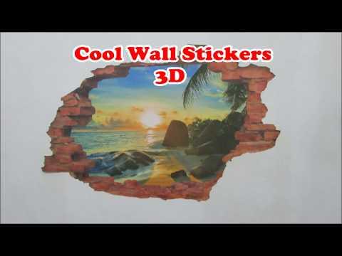 3D Wall Sticker Art