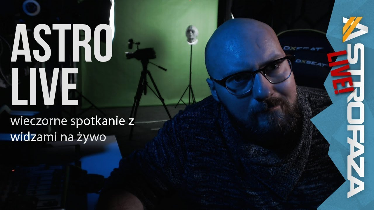 Odpowiedzi na astropytania widzów – AstroFaza Live