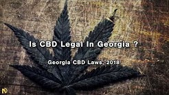 Is CBD Legal in Georgia?