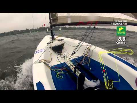 Rutland Sailing Club Race 1 Sunday 20 April 14