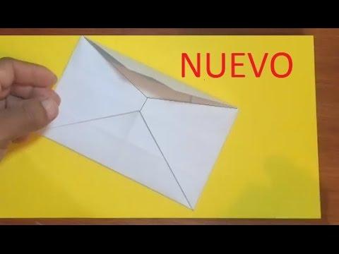 Como hacer un sobre para carta sin pegamento youtube for Pasos para elaborar un vivero