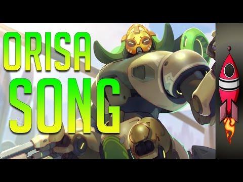 OVERWATCH ORISA SONG   Orisa (Fight 'Em Off)   Rockit Gaming