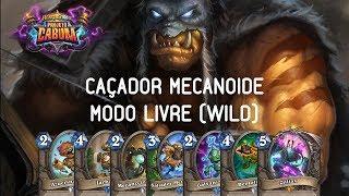 CAÇADOR MECANOIDE LIVRE (WILD) - HEARTHSTONE