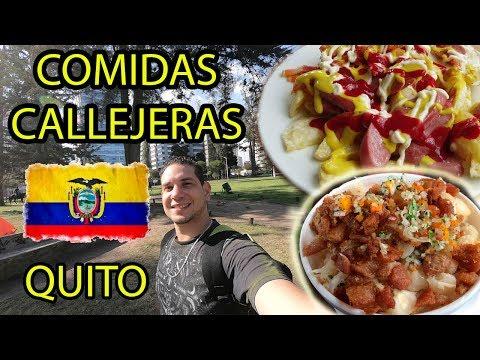 Probando COMIDA CALLEJERA ECUADOR | Quito. Albert Oleaga. Ecuador