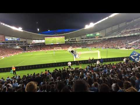 THE COVE | SYDNEY FC VS WS WANDERERS | CHANTS, SONGS, ATMOSPHERE | 21/10/17