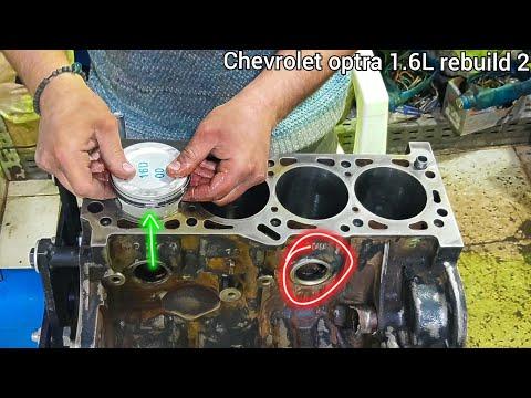 عمرة محرك شيفروليه أوبترا #الجزء_الثاني _ Chevrolet Optra 1.6L Engine Full Rebuild