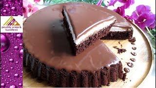 Pasta tadında müthiş çikolatalı tart kek tarifi Pratik Yemek Tarifleri