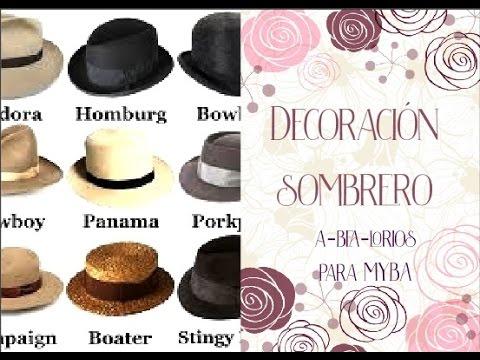Decoración de sombrero con pompones y cintas de yute. Estilo Boho Chic. -  YouTube 1759373b1c7