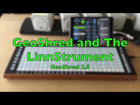 Application Note #13: GeoShred and the LinnStrument