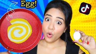 Testing Out *VIRAL* Egg Hacks By Tik Tok & 5 Minute Crafts!! *Shocking Results*   Nil & Situ Vlogs