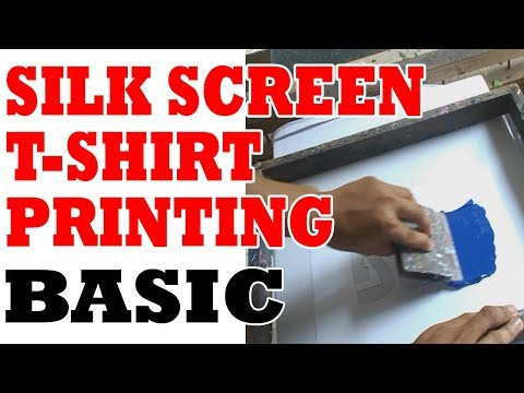 Silk Screen T-shirt Printing | Tagalog